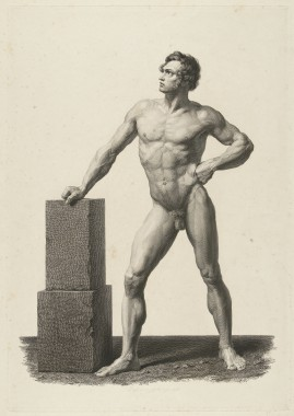 H.W. Couwenberg, The (nude) human figure: 'Corpo humano', 1836. Coll Rijksmuseum Amsterdam.