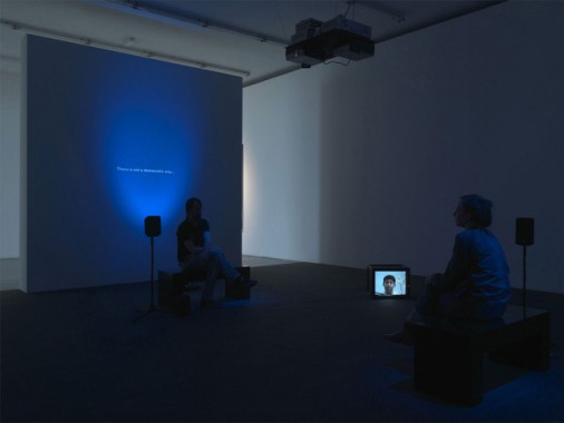 The Power of Listening, 2009, Live performance en video installatie. Photo installation: Bob Goedewagen